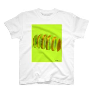 輪切り.com -キウイ- T-shirts
