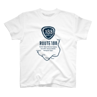 ROUTE188 T-shirts