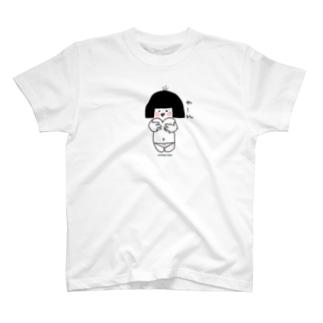 おかっぱピヨちゃん T-shirts