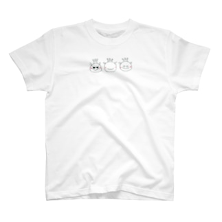 3匹のおうさまくん T-shirts