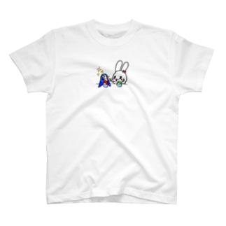 ペンちゃんと一緒にかき氷♡ T-shirts