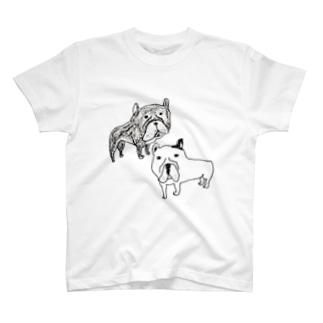 BOSSとリコ T-shirts