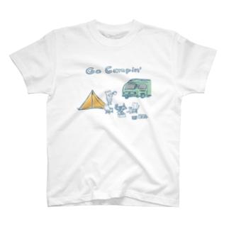 キャンプ旅にいきたい T-shirts