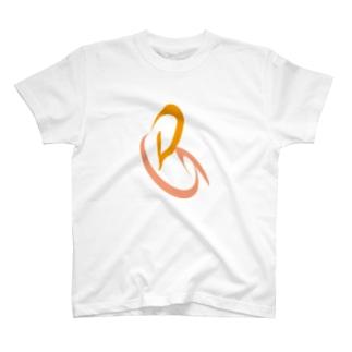 企業ロゴ風 T-shirts