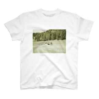 スイス1-taisteal-タシテル- T-shirts