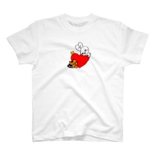 ハートを大切に☆ T-shirts