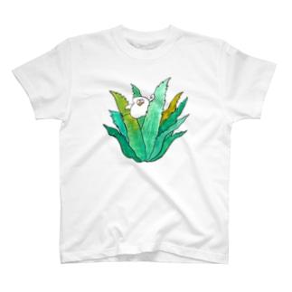 アロエ T-shirts