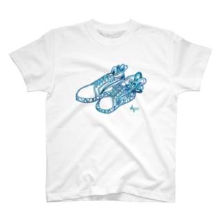 【限定】アクア/スニーカー T-Shirt