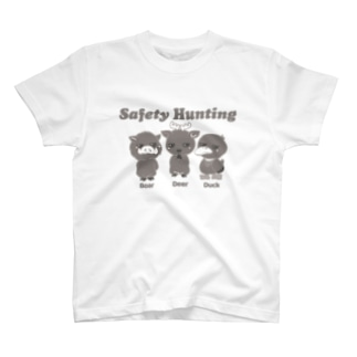 いのしかかも/濃い色用 T-Shirt
