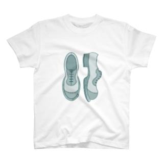 シンプル革靴 濃いめ T-Shirt