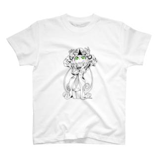 妖精:エアリエルC(両面) T-Shirt