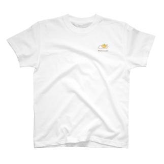 こっこさんとぴ。(目玉焼き_ワンポイントTシャツ) T-Shirt