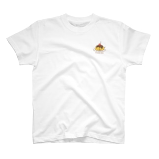 こっこさんとぴ。(プリン_ワンポイントTsyatu ) T-Shirt