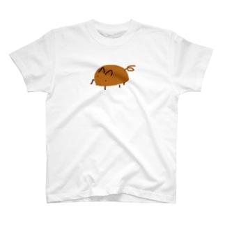画伯のモルモット T-shirts
