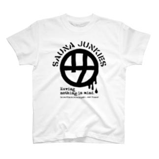 マルサ(黒プリント) T-Shirt