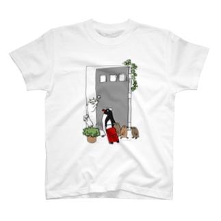 こんにちはペンギンさん T-shirts