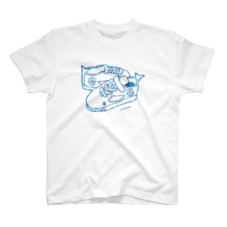 【限定】くじら/キッズスニーカー T-Shirt