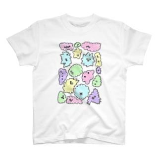 微生物 T-shirts