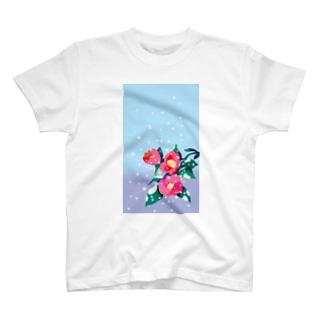 寒椿 T-shirts