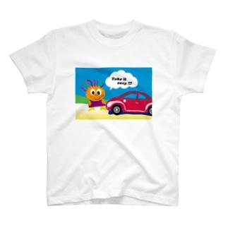クレコちゃんのノンキな一日 T-shirts