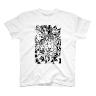 逆再生 T-shirts