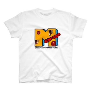 MGarage のファンキーロゴ T-Shirt