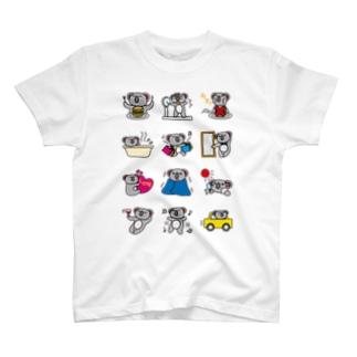 日常編-koaland-コアランド- T-shirts