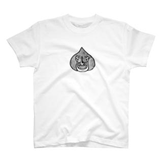 松尾マンドリル クロ T-shirts