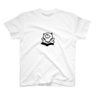 思索するくま T-shirts