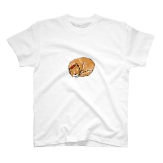 おひるねしばちゃん T-shirts