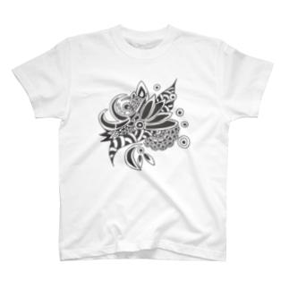 ハチドリの残像 T-shirts