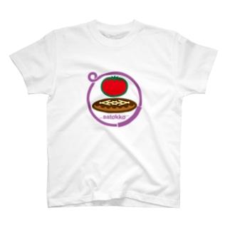パ紋No.3023 satokko  T-shirts