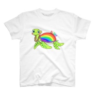 aloha❣️Rainbow 🌈 Honu 🐢 hawaii 🌺 T-shirts