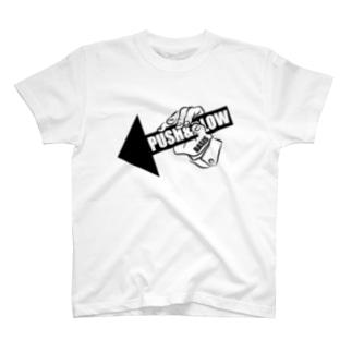 PUSH & BLOW T-shirts