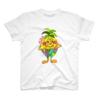 ALOHA(Ü)Pineapple♡Boy T-shirts