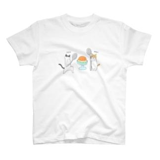 ヤタ&ナギ(ゼリー) T-shirts