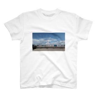 カメハメ波 T-shirts