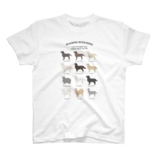 チャリティ/大型犬シリーズ T-Shirt