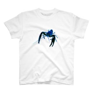 青ザリガニ T-shirts