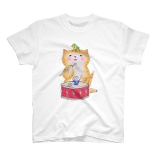 スネア猫 T-shirts