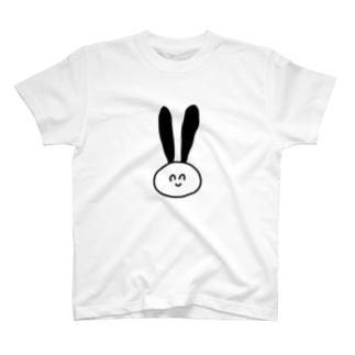 シンプル顔 T-shirts