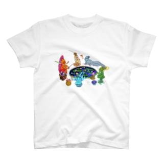 蜘蛛の糸 T-shirts