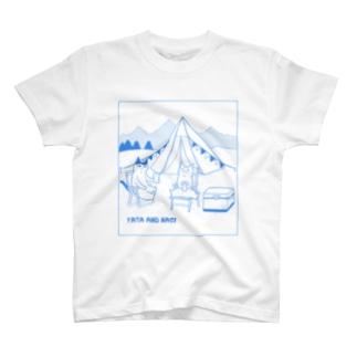 ヤタ&ナギ(キャンプ) T-shirts