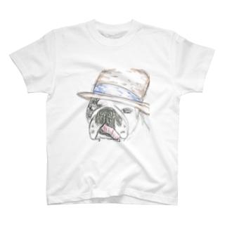 フレンチブルドッグ(hat T-shirts