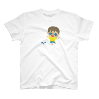 ハチ公ジャンプ! T-shirts
