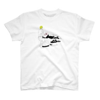 シャンプーin美容室 T-shirts