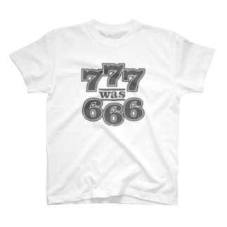 Lost Frog Productions [OFFICIAL GOODS]の777 was 666 T-shirts