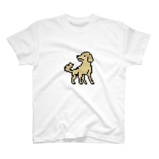 ドットなレトリバー T-shirts