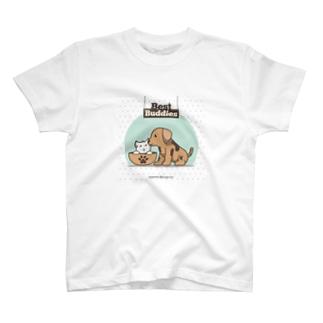 Best Buddiesシリーズ T-shirts