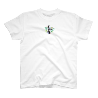 金魚デザイン T-shirts